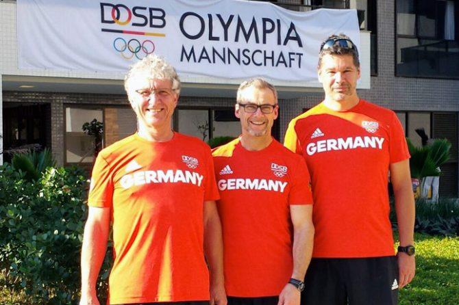 3 Ärzte der Sportorthopäden bei den Olympischen Spiele 2016